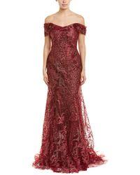 Rene Ruiz Gown - Red