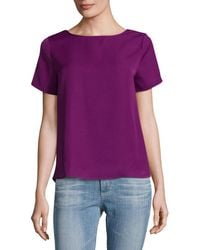 Lucca Couture June Knit Top - Purple