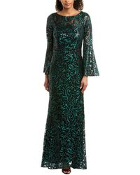 Carmen Marc Valvo Infusion Gown - Green