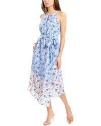 Vince Camuto Midi Dress - Blue