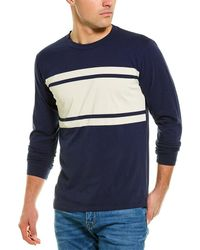 Chaser Nautical Stripes T-shirt - Blue