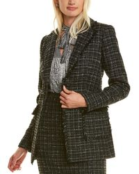 Karl Lagerfeld Tweed Jacket - Black