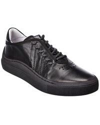Fly London Suma Leather Sneaker - Black