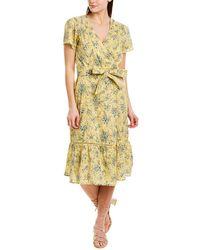 St. Roche Confetti Midi Dress - Yellow