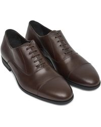 Harry's Of London Charles Leather Oxford - Brown