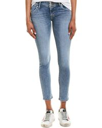 Hudson Jeans Collin Maybell Skinny Ankle Cut - Blue
