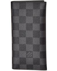 Louis Vuitton - Damier Graphite Canvas Card Holder - Lyst