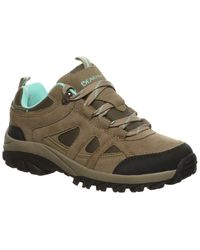 BEARPAW Olympus Suede-trim Hiking Boot - Grey