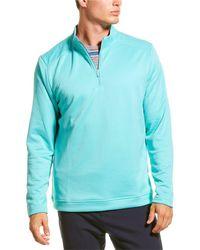 adidas Originals Quarter-zip Sweatshirt - Blue