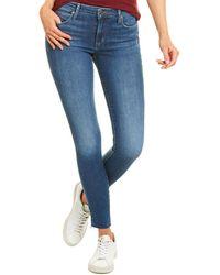 Joe's Jeans Curvy Skinny Ankle Cut Jean - Blue