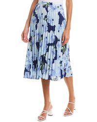 Tahari Tahari Asl Skirt - Blue