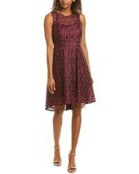 Adrianna Papell A-line Dress - Purple