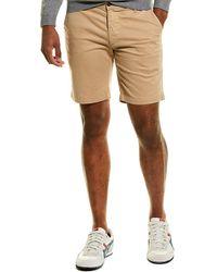 AG Jeans Slim Trouser Shorts - Natural