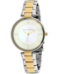 Ted Lapidus Classic Watch - Metallic
