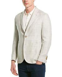 Lubiam Jack Linen Sportcoat - Grey