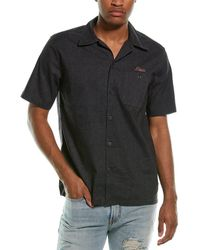 Deus Ex Machina Manila Woven Shirt - Black