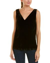 French Connection - Theresa Velvet Tank - Lyst