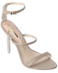Sophia Webster Rosalind Crystal Sandal - Natural