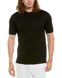 Ermenegildo Zegna Z Logo T-shirt - Black