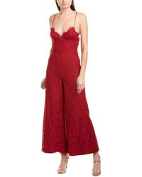 Fame & Partners Jumpsuit - Red