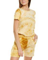 Melissa Masse Crewneck T-shirt - Yellow