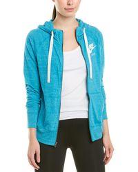 Nike Sportswear Gym Vintage Hoodie - Blue