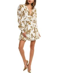 Dodo Bar Or Anatalya Silk-blend Mini Dress - White