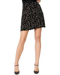 Club Monaco Reike Silk-blend Skirt - Black