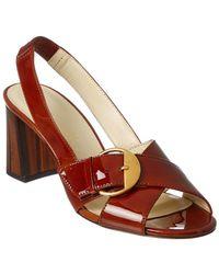 Bettye Muller   Pepper Patent Sandal   Lyst