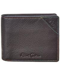 Robert Graham Birch Leather Wallet - Black