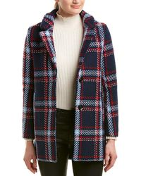 English Factory - Plaid Coat - Lyst