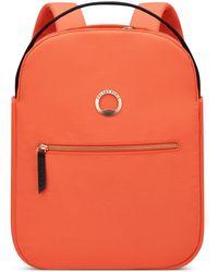 Delsey Securflap 13in Laptop Backpack - Orange