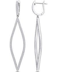 Rina Limor 10k 0.74 Ct. Tw. Diamond Earrings - Metallic