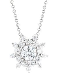 Nephora 14k 0.40 Ct. Tw. Diamond Starburst Pendant - Multicolor