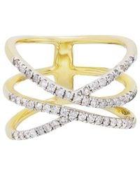 Diana M. Jewels . Fine Jewellery 14k 0.50 Ct. Tw. Diamond Ring - Metallic
