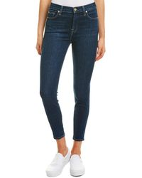 7 For All Mankind 7 For All Mankind Gwenevere Tgl Ankle Cut - Blue
