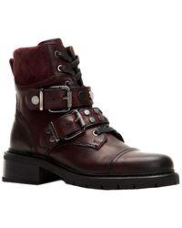 Frye Samantha Leather Hiker Boot - Brown