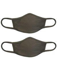 Pilyq Set Of 2 Cloth Face Mask - Multicolour