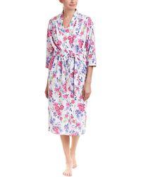 Karen Neuburger - Floral Robe - Lyst