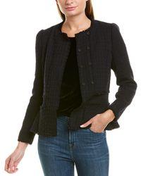 Rebecca Taylor Tweed Jacket - Black