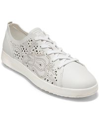 Cole Haan Grandpro Tennis Leather Trainer - White