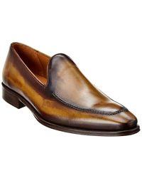 Mezlan Leather Loafer - Green
