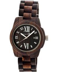 Earth Unisex Heartwood Watch - Black