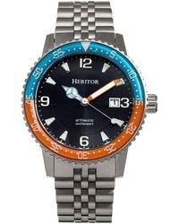 Heritor - Heritor Dominic Watch - Lyst