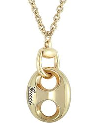 Gucci 18k Necklace - Metallic