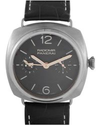 Officine Panerai - Men's Leather Watch - Lyst