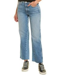 AMO Diy Moonshine Wide Leg Jean - Blue