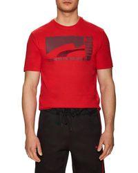 PUMA - Mono Suede T-shirt - Lyst
