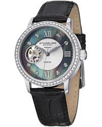 Stuhrling Original - Stuhrling Women's Memoire Diamond Watch - Lyst