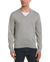 Brooks Brothers - V-neck Sweater - Lyst
